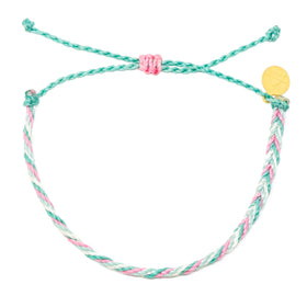 Chevron String Bracelet- Wildflower Colors