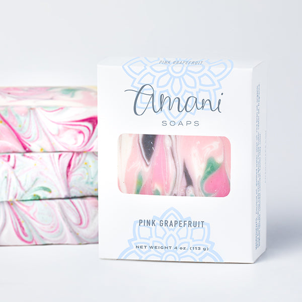 Vegetarian Soap--Pink Grapefruit Scent