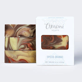 Vegetarian Soap--Limited Edition Spiced Orange