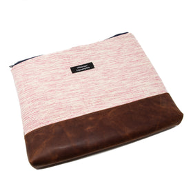 Handwoven & Leather Laptop Sleeve