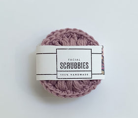 Sustainable Facial Rounds / Cotton Face Scrubbies