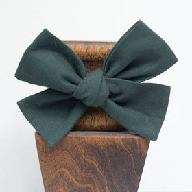 Georgia Pine Green -Little Lady Hair Bow