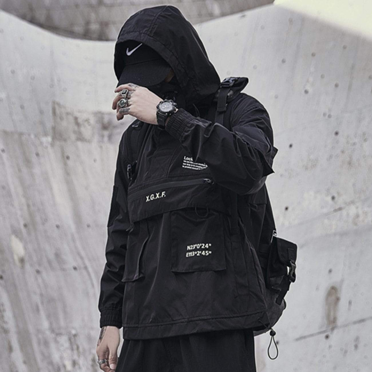Japanese Harajaku Techwear Jacket