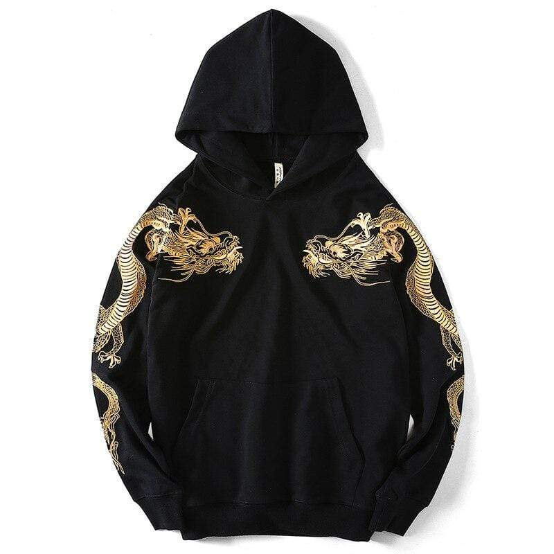 Japanese Golden Dragon </br> Hoodie
