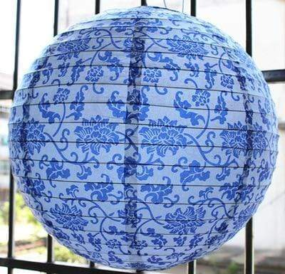 Blue Paper </br> Japanese Lamp