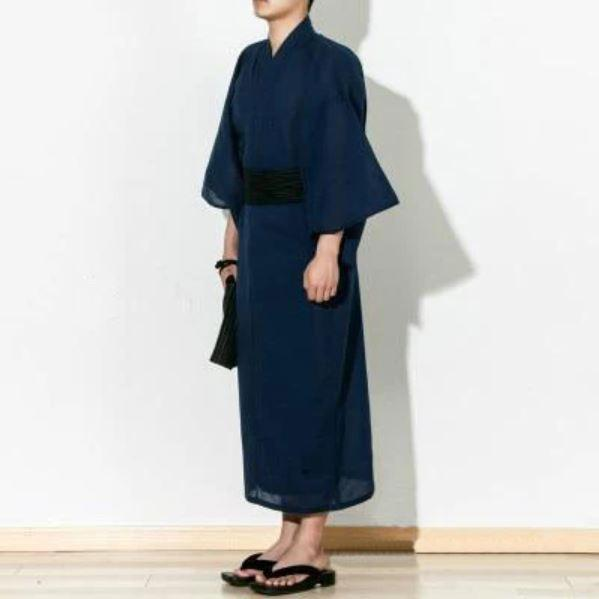 Dark Blue </br> Men's Yukata