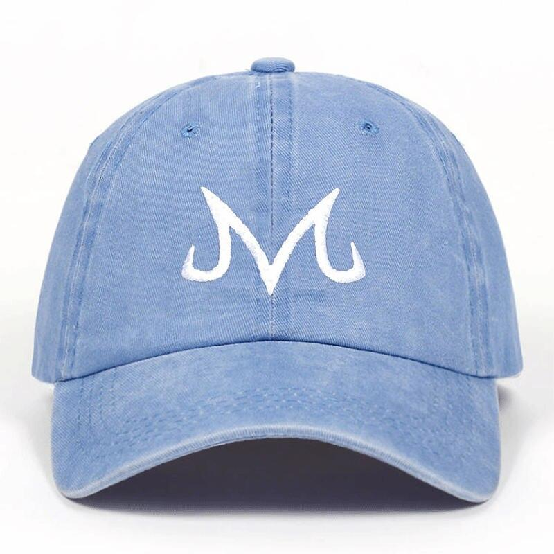 Japanese Cap 2019 new High Quality Brand Majin Buu Snapback Cap Cotton Washed Baseball Cap For Men Women Hip Hop Dad Hat golf caps