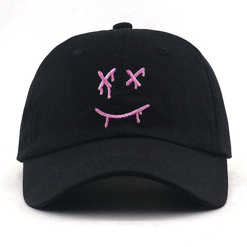 Japanese Cap Louis Tomlinson baseball cap I Miss You Smile Face dad hat 100% cotton embroidery adjustable black hip hop hats snapback unisex
