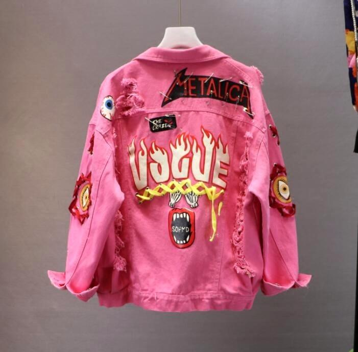 Japanese Kanji Vogue Jacket
