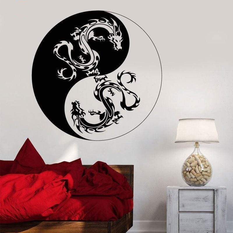 Japanese Wall Decals - Dragon