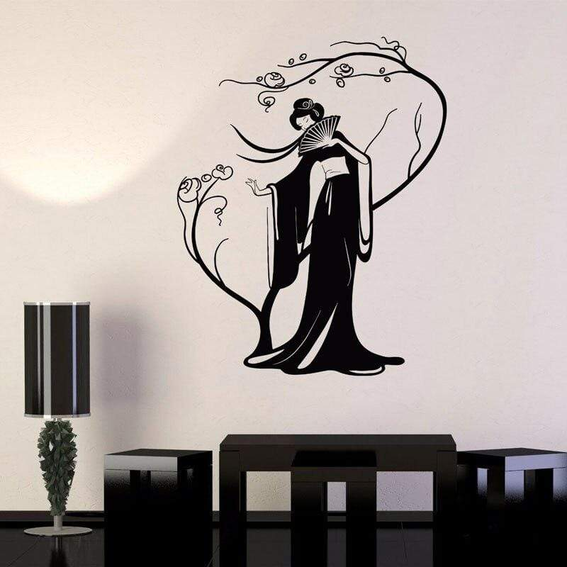 Japanese Wall Decals - Japanese Cherry