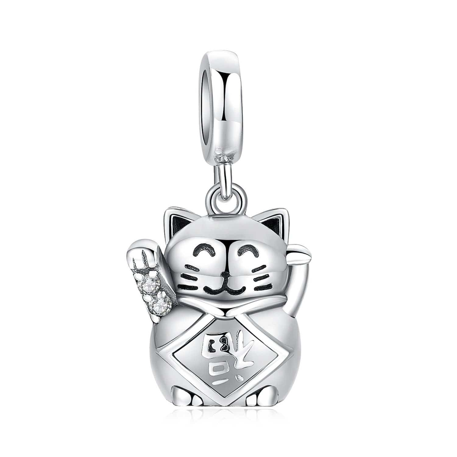 Maneki Neko </br> Japanese Necklace