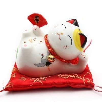 Original Fan piggy bank </br> Maneki Neko