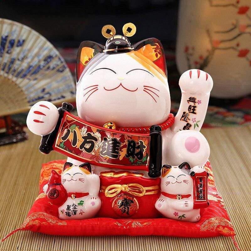 Piggy Bank </br> Maneki Neko