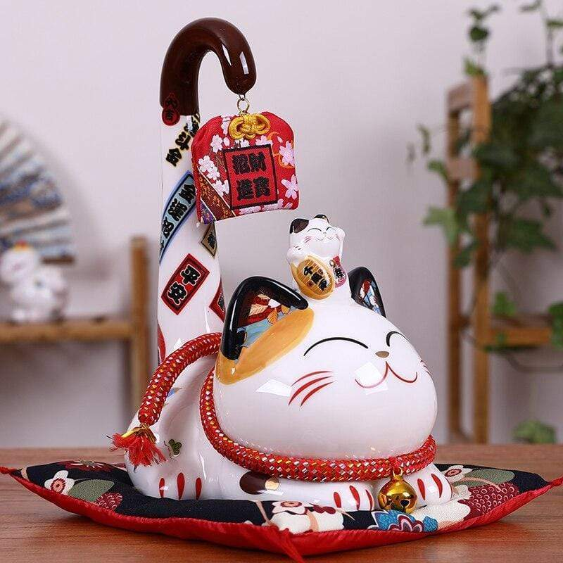 Piggy Bank Lucky cat </br> Maneki Neko