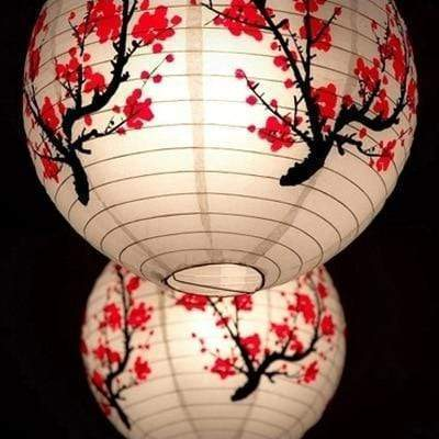 Sakura Flower </br> Japanese Lamp
