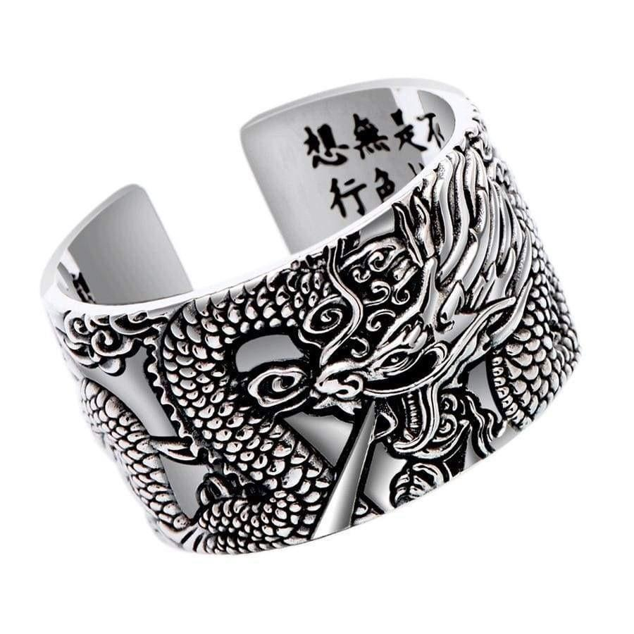 Silver Dragon </br> Japanese Ring