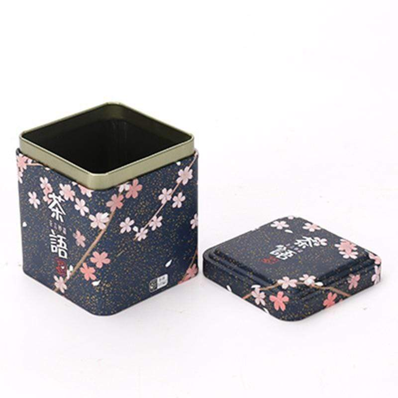 Japanese Square Tea Box