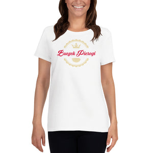 Open image in slideshow, Buczek Pierogi - Womens - Short Sleeve T-Shirt - White - Buczek Pierogi