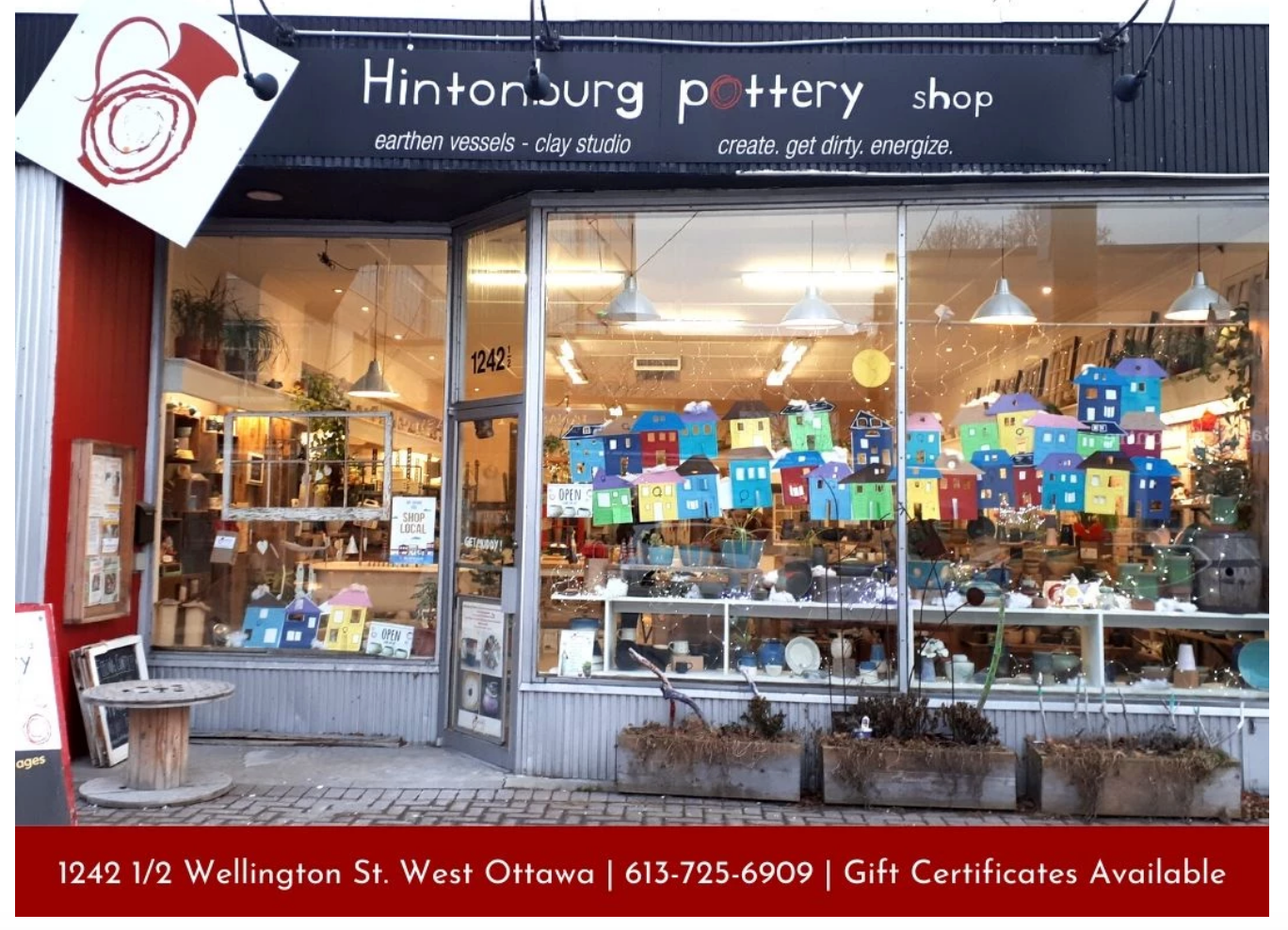Hintonburg Pottery Holiday Shopping