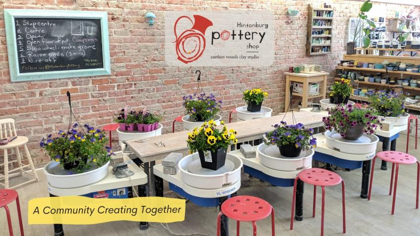A community creating together at Hintonburg Pottery