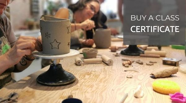 Buy A Class Certificate at Hintonburg Pottery