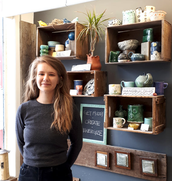 Hintonburg Pottery Instructor Hannah Dykes