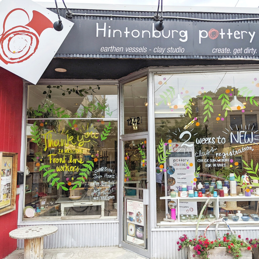 Hintonburg Pottery Ottawa Canada