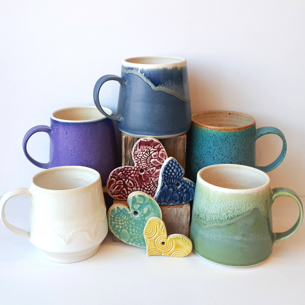 Hintonburg Pottery Handmade Canadian Pottery Mugs