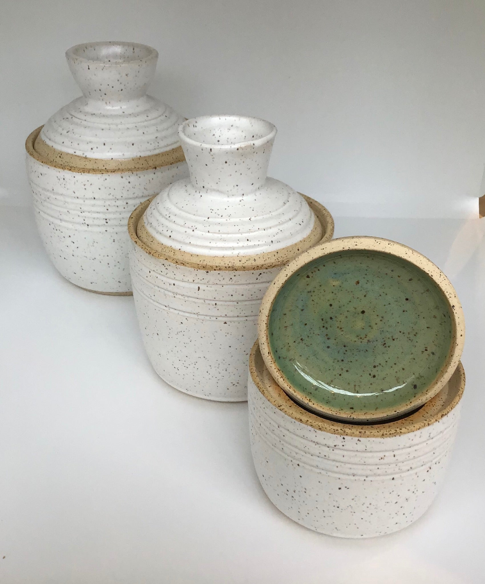Lidded Pot - Medium