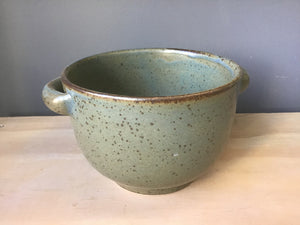 Deep Bowl with Handles