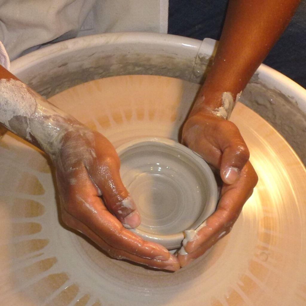 Beginner Wheel Throwing Classes at Hintonburg Pottery