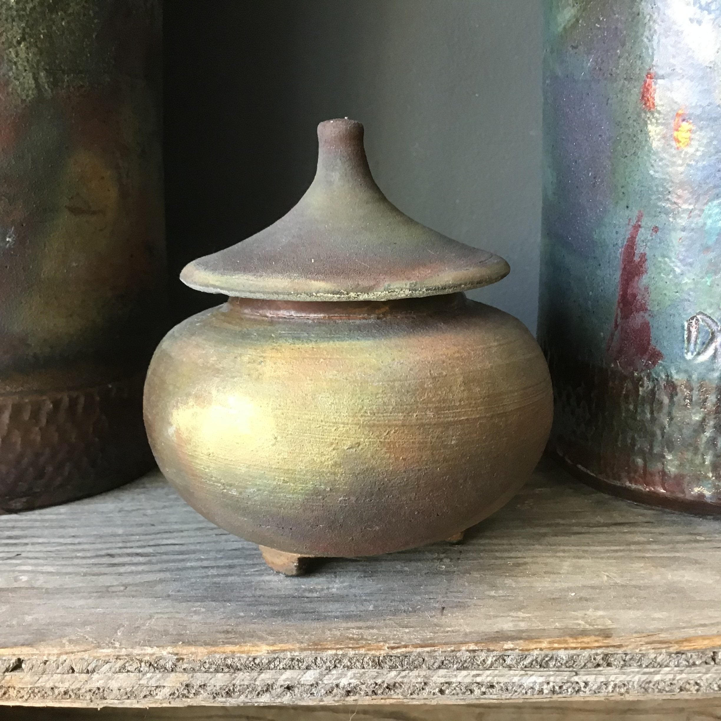 Small Sculptural Container