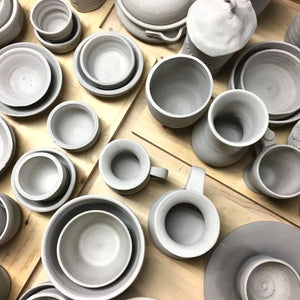 Wheel Throwing and Handbuilding Pottery Combo Classes at Hintonburg Pottery