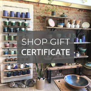 Hintonburg Pottery Shop Online Gift Certificate