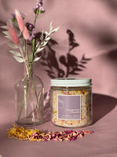 Load image into Gallery viewer, lavender & rose geranium bath tea