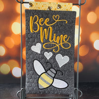 CLASS KIT for Embroidery Garden 'BEE MINE Mini Quilt' - kit does not include files or instructions