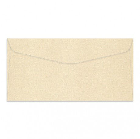 Curious Metallic Cream DL Rectangle Envelopes