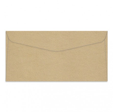 Curious Metallic Gold Leaf DL Rectangle Envelopes