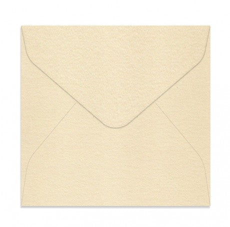 Curious Metallic Cream 130 Square Envelopes