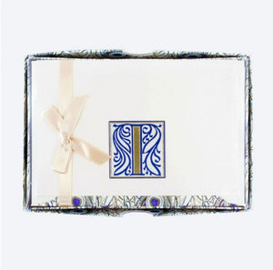 Initial Monogram Boxed Stationary Set - I