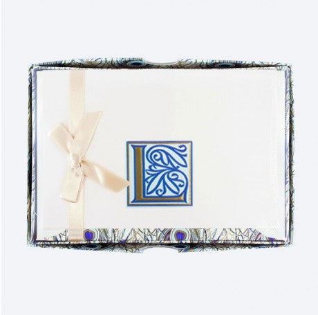 Initial Monogram Boxed Stationary Set - L