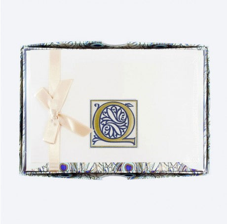Initial Monogram Boxed Stationary Set - Q