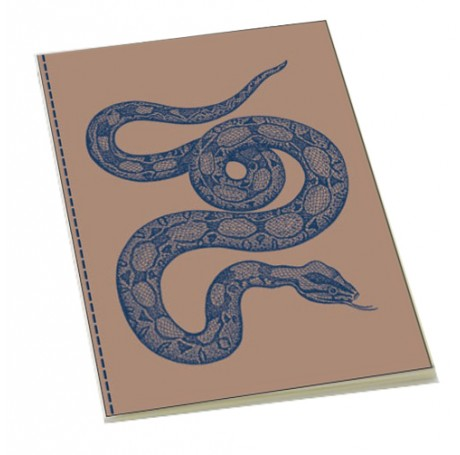 Vintage Snake Stitched Bound Notebook