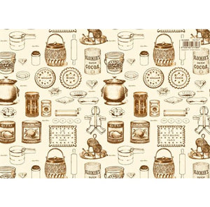 Vintage Kitchen Gift Wrap