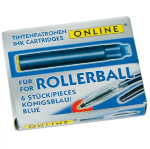 Roller Ball Ink Cartridge - Blue
