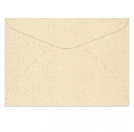 CURIOUS METALLIC CREAM C5 ENVELOPES