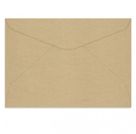 Curious Metallic Gold Leaf C5 Rectangle Envelopes