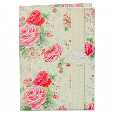 Rose Garden Writing Set Small