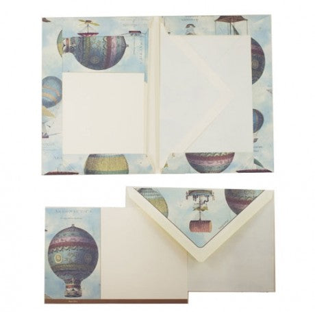 Writing Set Air Balloons Medium